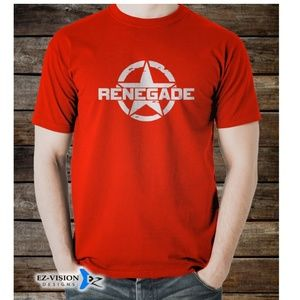Jeep Renegade Car SUV T-Shirt S M L XL 2XL 3XL